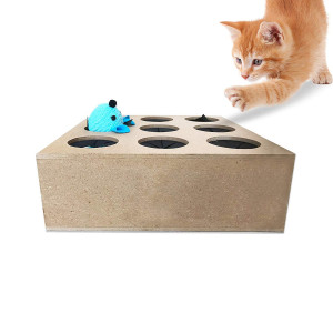 Hugs Pet Products Whack-A-Mouse Cat Toy