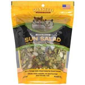 Vitakraft Vita Prima Sun Salad Treat for Dwarf Hamsters 8 oz.