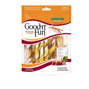 Good'N'Fun Flavor Twists Dog Chews