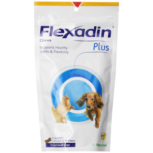 Vetoquinol Flexadin Plus Chews for Cats and Small Dogs 12.69 oz (360 g) 90 Chews