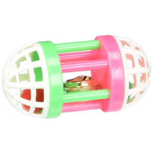 Iconic Pet Plastic Roller with Bell
