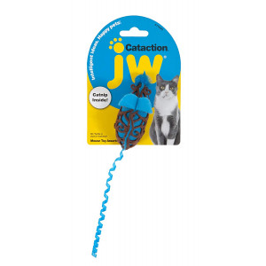 Petmate JW Cataction Mouse Toy, Multicolor