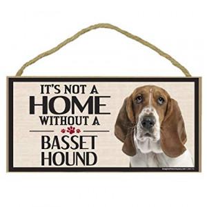 Imagine This Wood Sign for Bassett Hound Dog Breeds