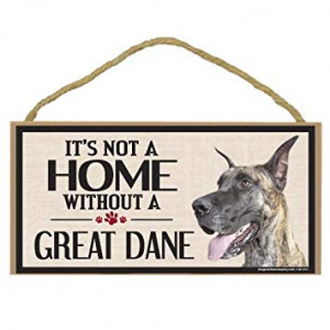 Imagine This Wood Sign for Great Dane Dog Breeds