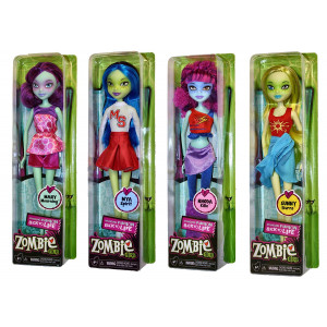 "Zombie Girls 11.5"" - 4 Doll Collection (Premiere Edition)"