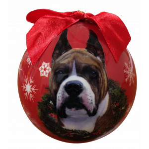 Boxer Christmas Ornament Shatter Proof Ball Easy To Personalize A Perfect Gift For Boxer Lovers