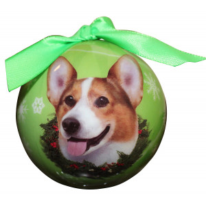 Welsh Corgi Christmas Ornament Shatter Proof Ball Easy To Personalize A Perfect Gift For Welsh Corgi Lovers