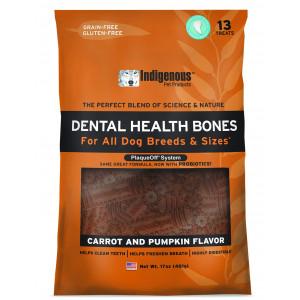Indigenous Dental Health Bones Carrot Pumpkin Flavor