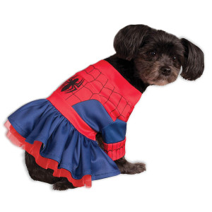 Rubies Costume Company Marvel Classic/Marvel Universe Spider-Girl Pet Costume