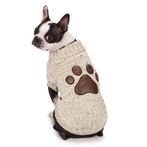 """Zack and Zoey Aberdeen Sweater for Dogs, 14"""" Small/Medium"""