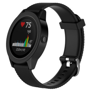 I-SMILE Garmin Vivoactive 3 Band, Soft Silicone Replacement with Quick Release Connectors for Garmin Vivoactive 3 Band Smart Watch, Buckle
