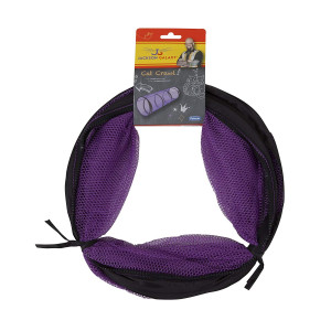 Jackson Galaxy Cat Crawl Mesh Tunnel, Purple