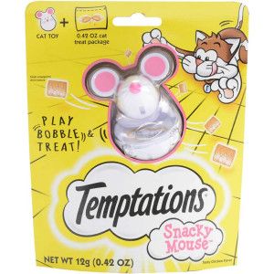 Temptations Snacky Mouse Cat Toy For Cat Treats