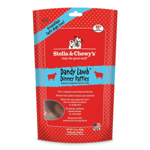 Stella and Chewy Freeze Dried Super Dandy Lamb Dinner Dog Food, 14 ounce bag