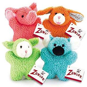 Zanies Cuddly Berber Baby Dog Toy (Bunny, Elephant, Koala, and Lamb) by Zanies