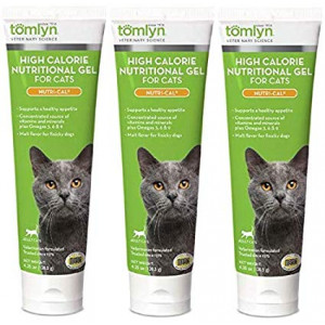 Nutri-cal for Cats High Calorie Dietary Supplement, 4.25-ounce Tube (Pack of 3)