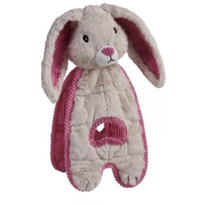 Cuddle Tugs Dog Toy Bunny (Pack of 2)