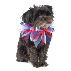 Rubies Costume Patriotic Fancy Collar Dog Costume