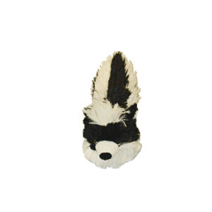 """Multipet Bouncy Burrow Buddies Babies Skunk Small Dog Toy, 8"""""""