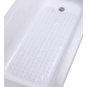 Tike Smart Machine-Washable, Superior Extra-Long Non-Slip, Transparent Clear