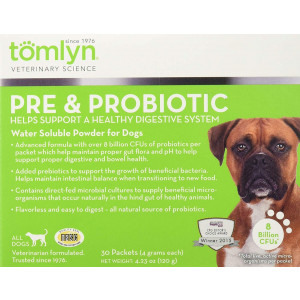 Tomlyn Pre and Probiotic for Dogs, 30pk