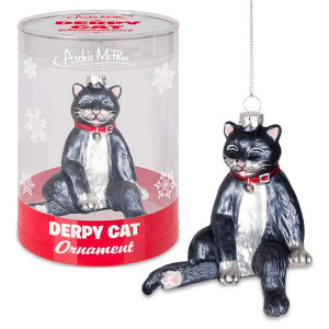 Derpy Cat Ornament By Accoutrements