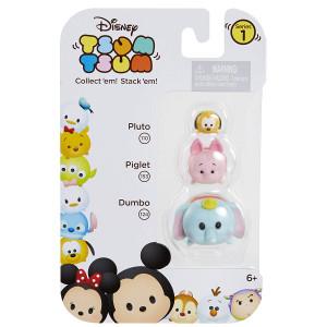Tsum Tsum 3-Pack Figures: Dumbo/Piglet/Pluto