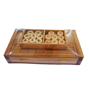 CMStar Portable Wooden Chinese Chess Game Set