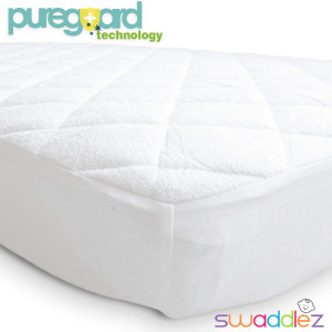 Pack n Play Mattress Pad | Mini Crib Waterproof Protector | Padded Cover for Graco Playard Matress | Fits ALL Baby Portable Cribs, Play Yards and Foldable Mattresses