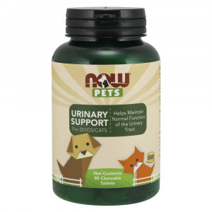 Now Pets Urinary Support, 90 Chewable Tablets