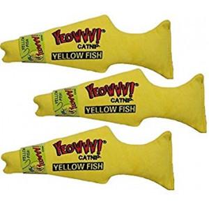 Yeowww! Yellow Fish (Pack of 3)