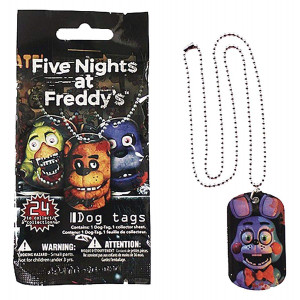 Five Nights At Freddy's Blind Bag Dog Tag