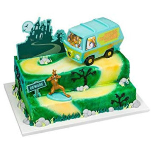 Scooby-Doo! Mystery Machine Signature Cake Decorating Kit
