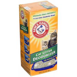 Cat Litter Deodorizer Powder with Baking Soda, 20oz