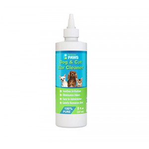 Particular Paws Ear Cleaner for Dogs and Cats with Aloe Vera, Tea Tree Oil and Vitamin E