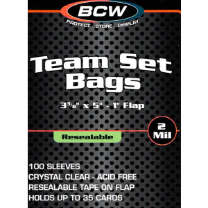 4 Team Set Bags - Resealable sets of 100