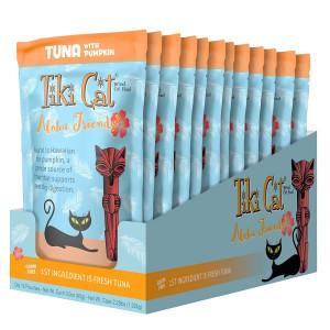 Tiki Cat Aloha Friends - 3 oz. 12BX - Tuna Pumpkin