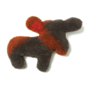 West Paw Design Madison Moose Squeak Toy for Dogs