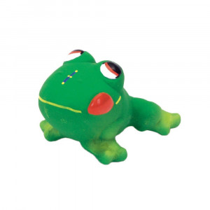 Coastal Pet Rascals Latex Frog Squeaker Dog Toy, 3-Inches