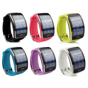 Cute Replacement Wristband Bracelet/Wireless Smartwatch Accessory Band Strap With Secure Buckle for Samsung Galaxy Gear S R750 Smart Watch - Free Size...