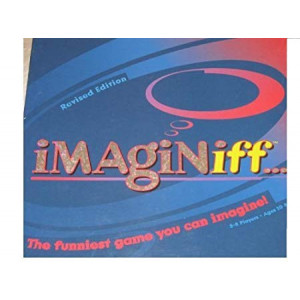 IMAGINiff Board Game 2006 REVISED EDITION!!! Over 100 of 183 Question Cards New and Updated! 3-8 Players. Ages 10 and up. by Buffalo Games