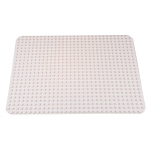 """Classic Big Briks Baseplate 15"""" x 10.5"""" Large Building Brick Baseplate by Strictly Briks 