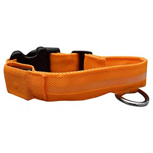 ASPCA Adjustable LED Safety Collars for Dogs and Cats, Three Long Lasting Blinking Options