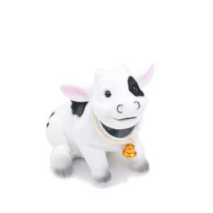 Bobblhead Cow by Batty Bargains