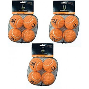(3 Pack) Hyper Pet Orange (Mini) Tennis Balls for Dogs, 4 Balls each