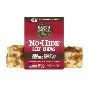 """Earth Animal No Hide Beef 4"""" Chews for Dogs"""