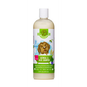 Mynetpets Oatmeal and Aloe Dog and Puppy Shampoo. Soap Free, Hypoallergenic Luxury Medicated Formula from Moisturizes and Helps Soothe Dry, Sensitive, Itchy or Irritated Skin. For Cat and Kittens Too.