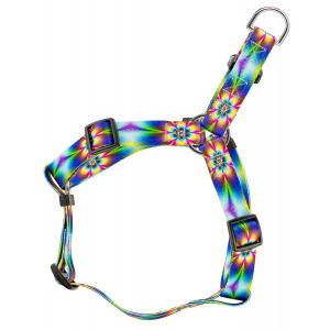 Country Brook Petz   Step-in Dog Harness - Groovy Collection