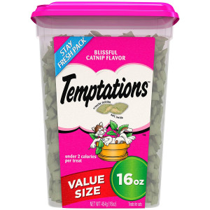Temp-tations Temptations Classic Treats for Cats 16 Ounces