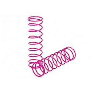 Traxxas 2458P Front Shock Springs (Pair), Pink